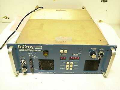 Lecroy Model Hv4032a High Voltage Power Supply 7kv With 8 Plugins Power Supply