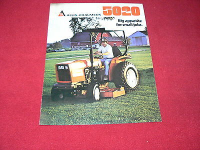 Allis Chalmers 5020 Tractor Dealers Brochure