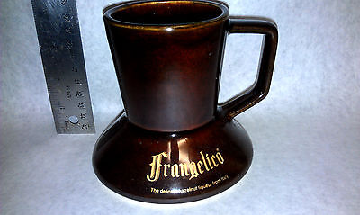 Frangelico Coffee Mug with rubberized bottom Collectible vintage