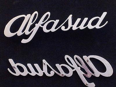 Iniciales Alfasud Alfa Romeo Letras Trasero Friso Original Rear Sign Genuine