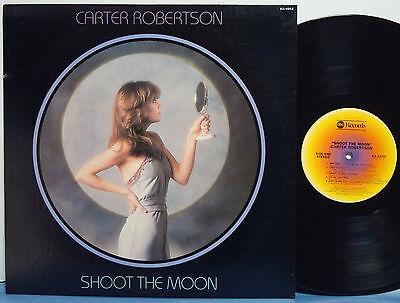 """CARTER ROBERTSON """"Shoot the Moon"""" 1978 EXC 1ST ABC LP Jim Horn-Donald Duck Dunn"""