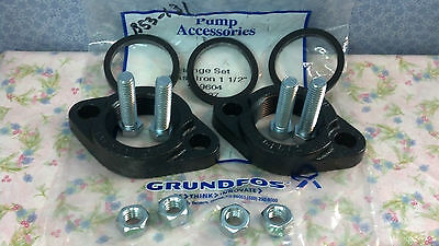 Grundfos Flange Set Cast Iron 1-12 Includes Bolts Nuts Gaskets