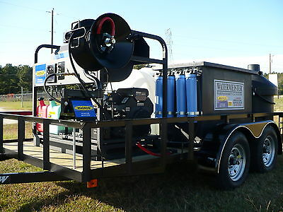 Hot Water Pressure Washer Recycling Portable System