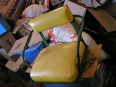 John Deere 420 Tractor Original Jd Deluxe Seat Assembly With Cushions