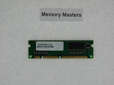 32d Cisco Approved Memory - MEM2600-32D 32MB Approved DRAM Memory for Cisco 2600