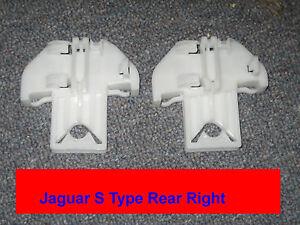 Jaguar X- , S-Type - Window Regulator Repair Clip (1) - REAR Set Left + Right