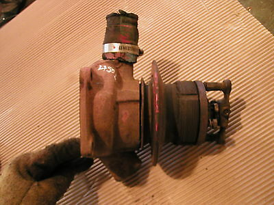 Farmall 450 Diesel Tractor Engine Water Pump And Fan Mount Pulley