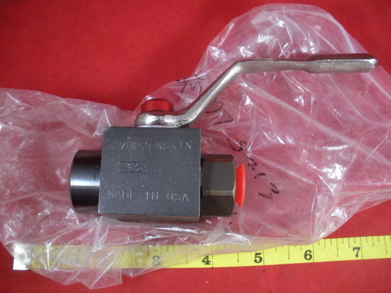Parker BVHP06NSK1N Valve Hydraulic High Pressure Ball two-way BVHPO6NSK1N New
