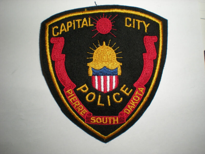 PIERRE, SOUTH DAKOTA CAPITAL CITY POLICE DEPARTMENT PATCH