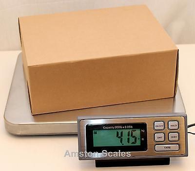 400 X 0.1 Lb Shipping Scale 14 X 16 Steel Tray Postal Postage Ups Fedex Usps