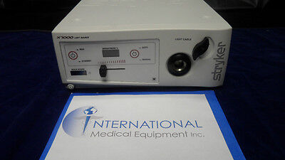 Stryker X-7000 Endoscopy Light Source X7000