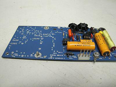 Elox Division Hipol Drive Circuit Board Card 320045-1 3200451