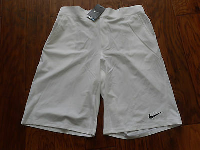 NIKE NADAL FEARLESS WOVEN TENNIS SHORTS WHITE SZ 2XL 404677 100 for sale  Orlando