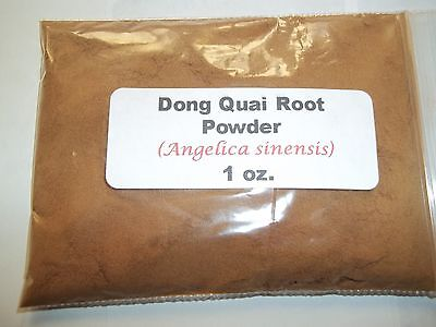 - 1 oz. Dong Quai Root Powder (Angelica sinensis)