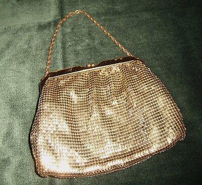 Vintage Whiting & Davis Evening Bag w/ Chain Very Elegant