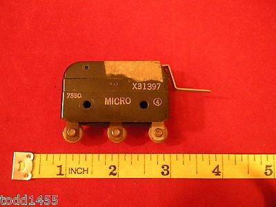 Honeywell Micro Switch X31397 Limit Lever Arm Mini Snap On 7330 C No Nc Nos
