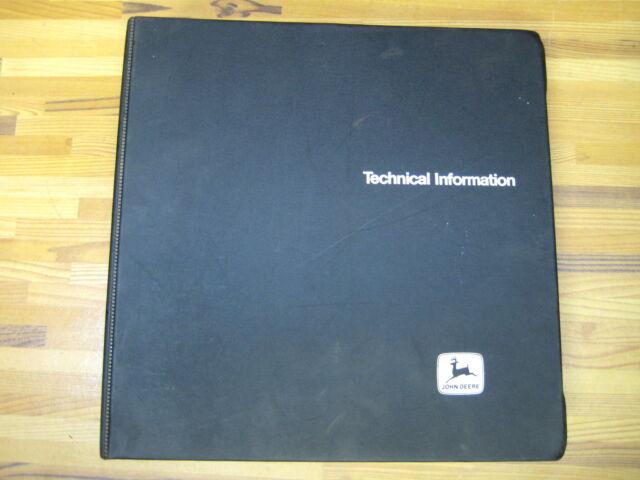 JOhn Deere tech manual technical 2150 2255 tractor