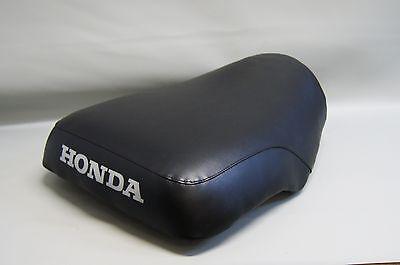 1982 Honda Atc - HONDA ATC200E Seat Cover 1982 1983 BIG RED Electric Start  in BLACK GRIPPER (ST)