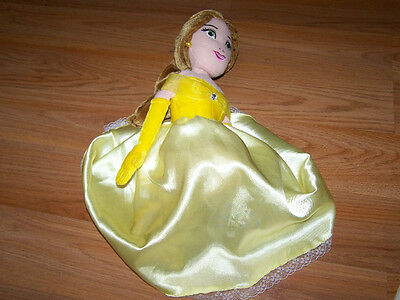Disney Beauty and the Beast Plush Princess Belle Doll Character Toy Yellow Dress](Female Disney Characters)