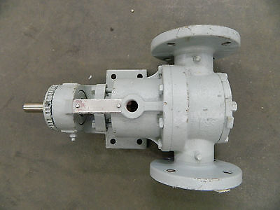 Rebuilt Viking H724 Stainless Steel Ss Pump 34 Shaft Dia. 2 Flange