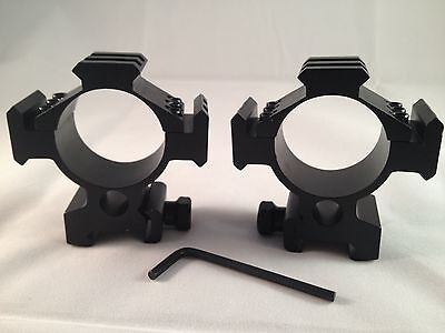 Ade Advanced Optics 35mm low Mounts for Rifle Scope Rings 35 mm