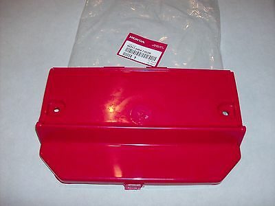 Honda TRX 300 Fourtrax Battery Cover RED  NEW