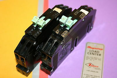 1 Zinsco 30 Amp Breaker 2-pole Thin Rc-38 120240 Volt Double Pole