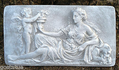 Abs plastic set of 2 roman lady molds plaster concrete mould