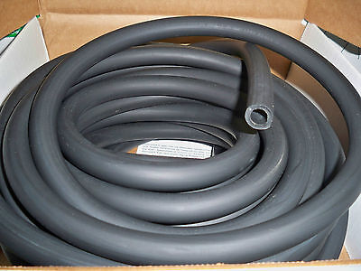 5 Continuousfeet 38 I.d X 18 W X 58 Od Black Latex Rubber Tubing Surgical