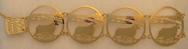 Australian Shepherd Jewelry Bracelet by Touchstone Dog Designs