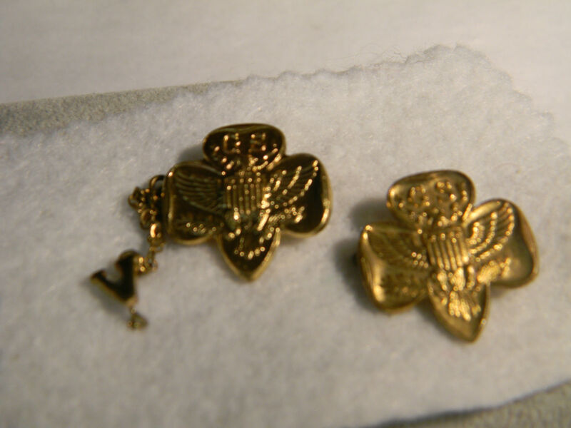 Girl Scout Pins Set of 2 (2637)