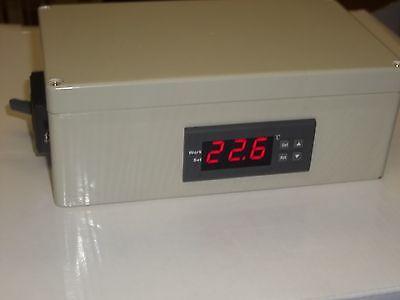 Plug Play Temperature Control Fr Chicken Bird Coop Barn Egg Incubator Brooder