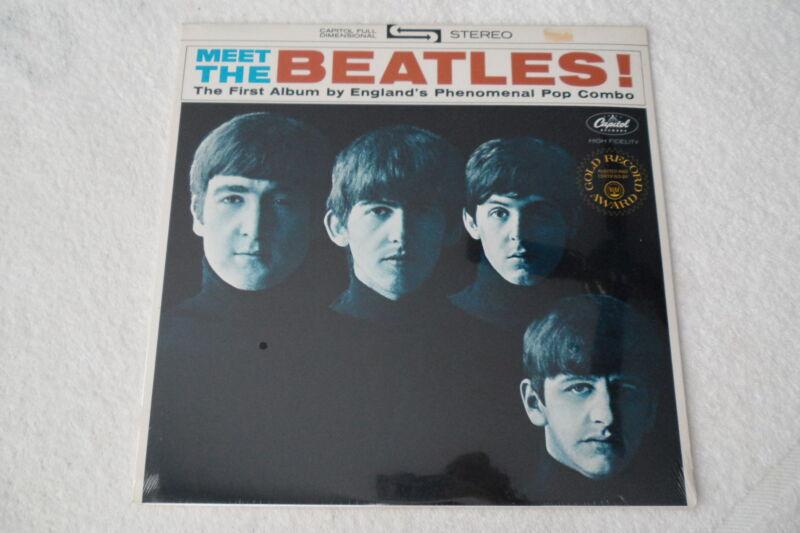 THE BEATLES Original__SEALED__Meet The Beatles LP__Capitol ST-2047__NM-