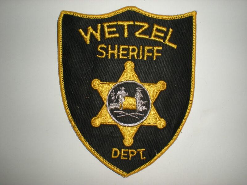 WETZEL, WEST VIRGINIA SHERIFF