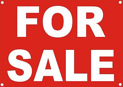 White foamex for sale, notice sign, available in 3 sizes  HOLED, DRILLED A5