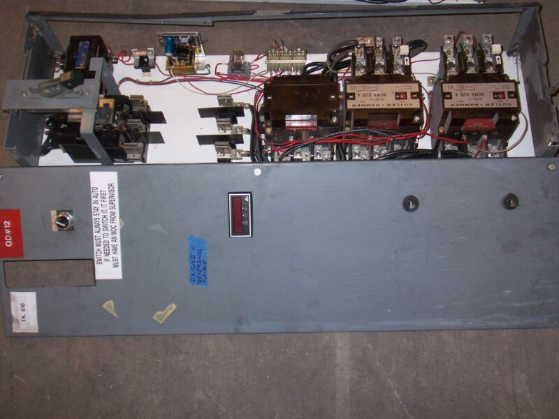CUTLER HAMMER UNITROL F10 SIZE 4 REVERSING STARTER 2 SPEED 150 AMP MCC BUCKET