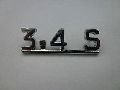 Jaguar S-Type 3.4S Boot Lid Badge