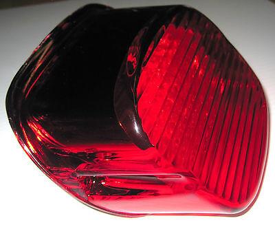 Radiantz LED Strobing Laydown Tail Light w/ Red Lens for H-D Street Glide