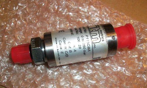 Trans Metrics Pressure Transducer  Model P115CBA   NEW