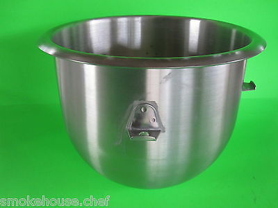 New Stainless Steel Heavy-duty Bowl For The Hobart Mixer C100 C100t 10 Quart