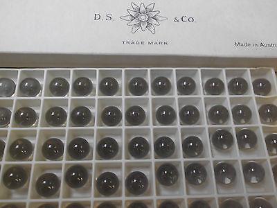 Swarovski vintage 72 gemmes (perles à sertir ) 8mm black diamond