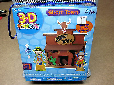 3D FOAMIES activity kit NEW Ghost Town building miniature western model Darice
