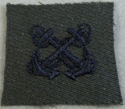 US Navy Boatswain's Mate Specialty Mark On Gabardine Cloth