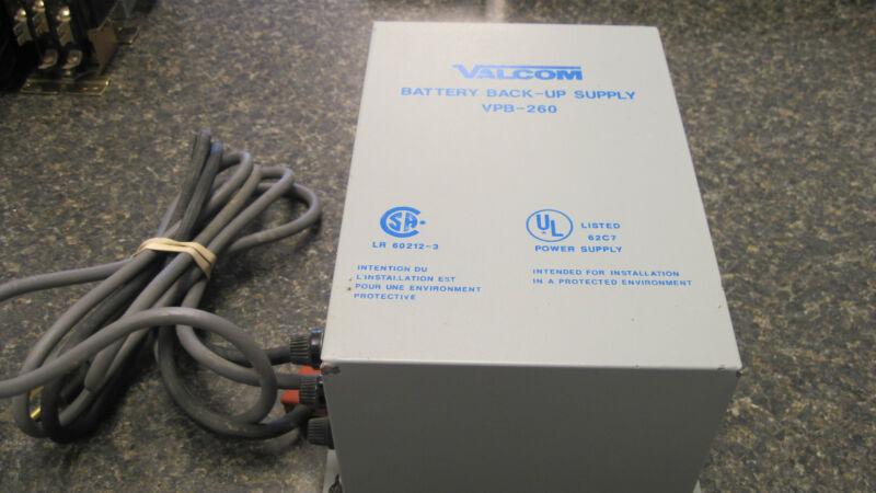 VALCOM BATTERY BACK-UP SUPPLY VPB-260