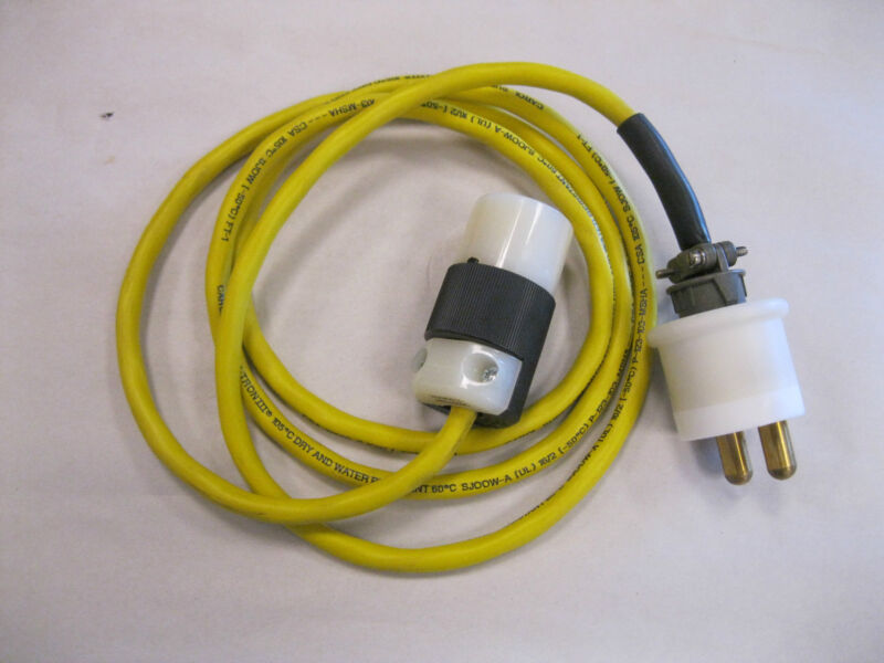 NEW 6 FT CAROL SUPER VU-TRON III 105 DEG DRY & WATER RESISTANT CABLE WITH ENDS