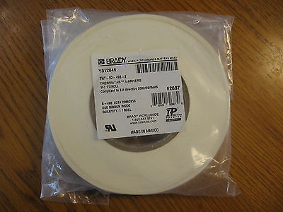 New Brady Label Thermatab Markers Thermal Transfer Tht-92-498-2