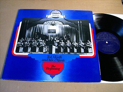 TED HEATH AND HIS MUSIC - THE BEGINNING - 2 LPs DECCA DDV 5015/6 MONO
