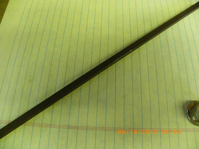 """1 FT.(12 INCHES) OF 1/4"""" KEY STOCK, KEY WAY, SQUARE,  UNPLATED, BRAND NEW,"""