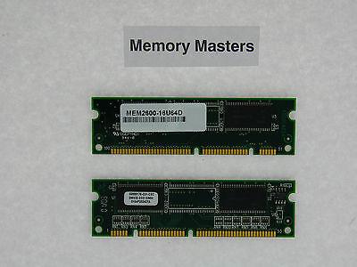 MEM2600-16U64D 64MB Approved Memory Kit (2X32MB Memory) Cisco 2600 Series Router