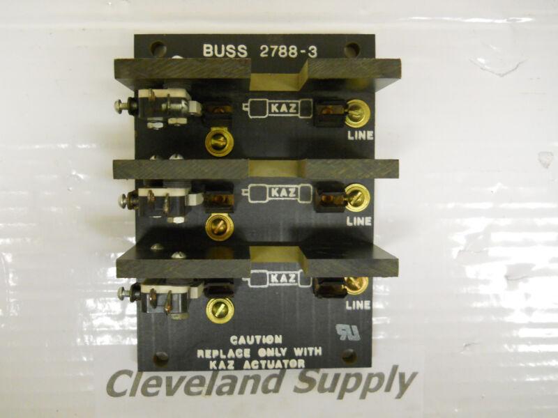 BUSSMANN 2788-3 FUSE BLOCK NEW CONDITION / NO BOX
